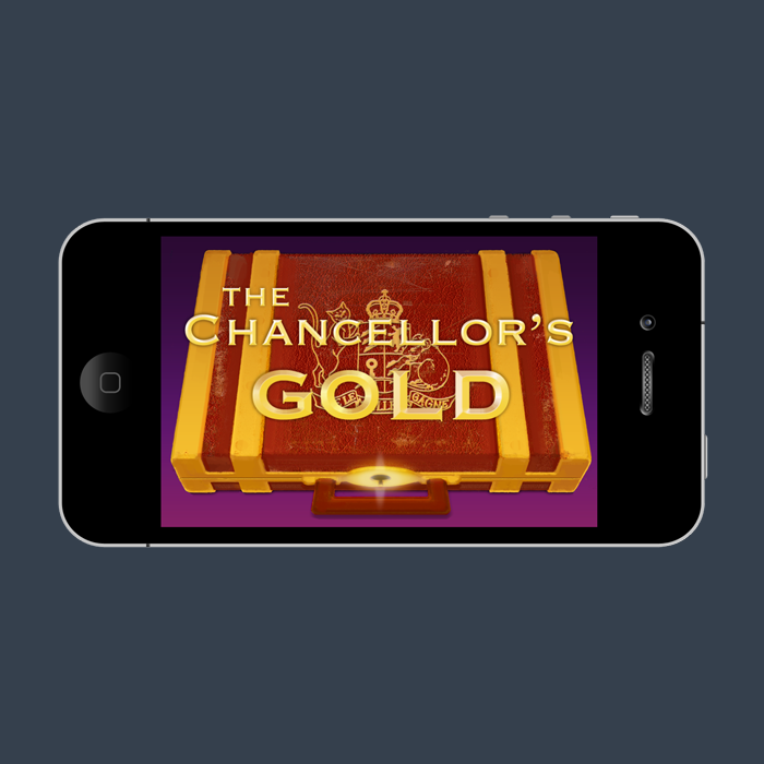 The Chancellor's Gold app